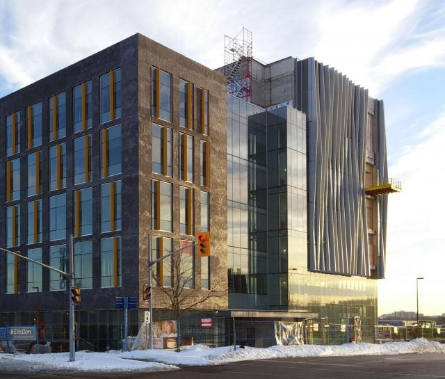 UTSC Environmental Science & Chemistry, Diamond Schmitt Architects, EllisDon
