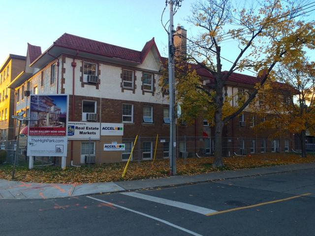 The High Park, Quadrangle Architects, North Drive Investments, Bloor West