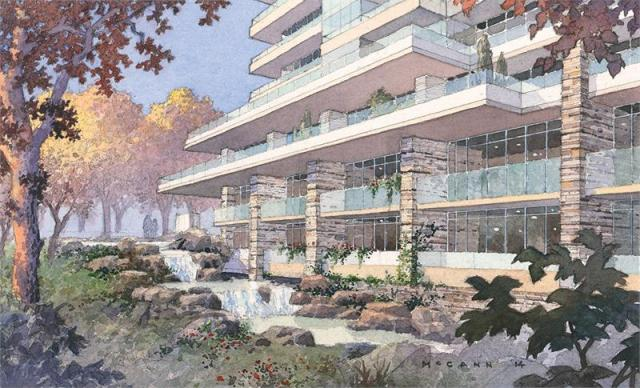 The Ravine, Urban Capital, ALIT Developments, Rafael + Bigauskas, Toronto