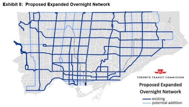 TTC, Blue night, expansion, john tory, toronto
