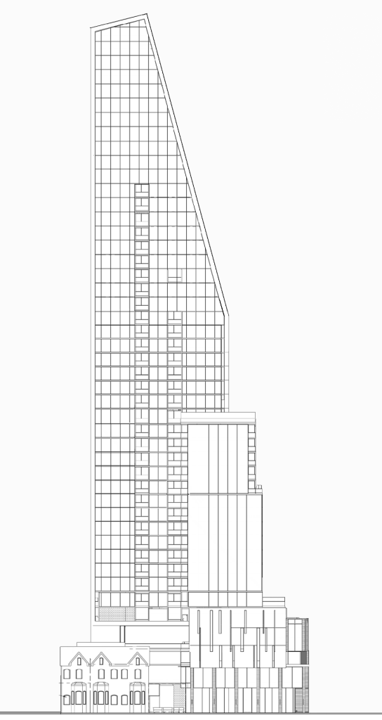 587-599 Yonge, by Hariri Pontarini Architects for Stancorp Properties