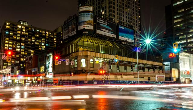 The Stollerys building at Yonge and Bloor, image by Forum contributor kotsy