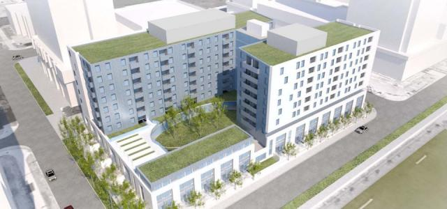 Block 24 South at Regent Park, image from Toronto Community Housing Corporation