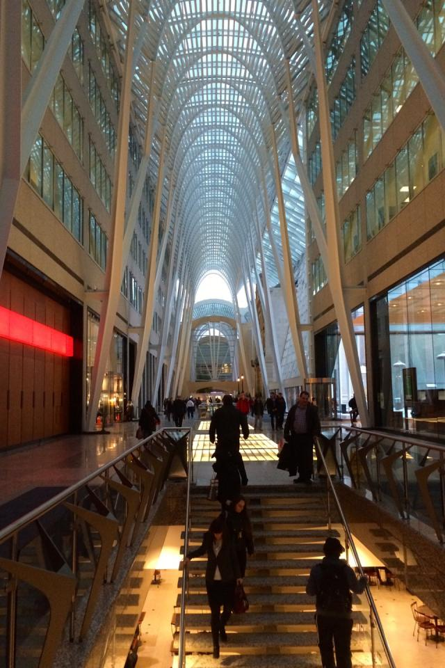 The Galleria at Brookfield Place, Toronto