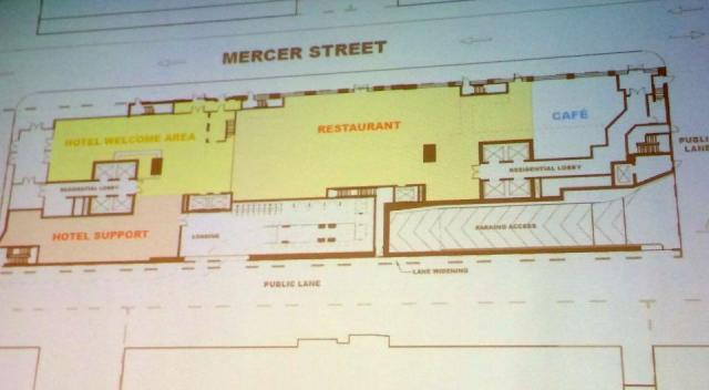 15-35 Mercer, Toronto, preliminary design by Teeple Architects for Madison Homes