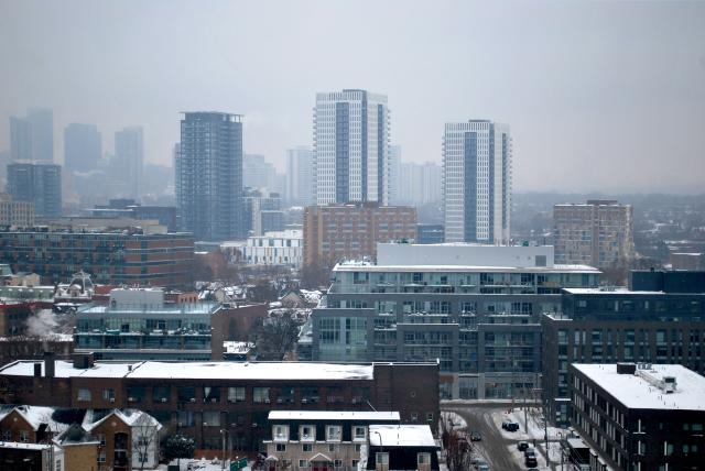 Regent Park's 605 Whiteside Place demolished, image by Marcus Mitanis