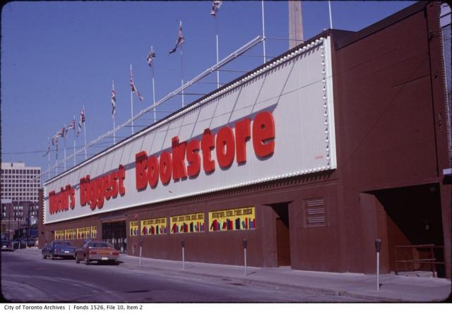 World's Biggest Bookstore, Toronto Archives, Toronto