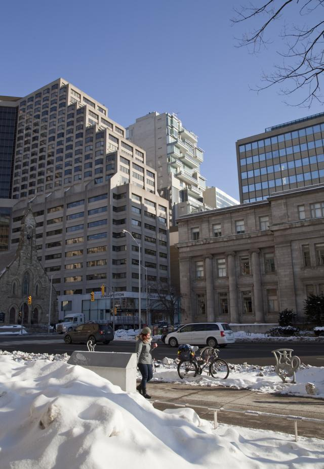 Throwback Thursday, 155 Cumberland and 130 Bloor Street West, Toronto