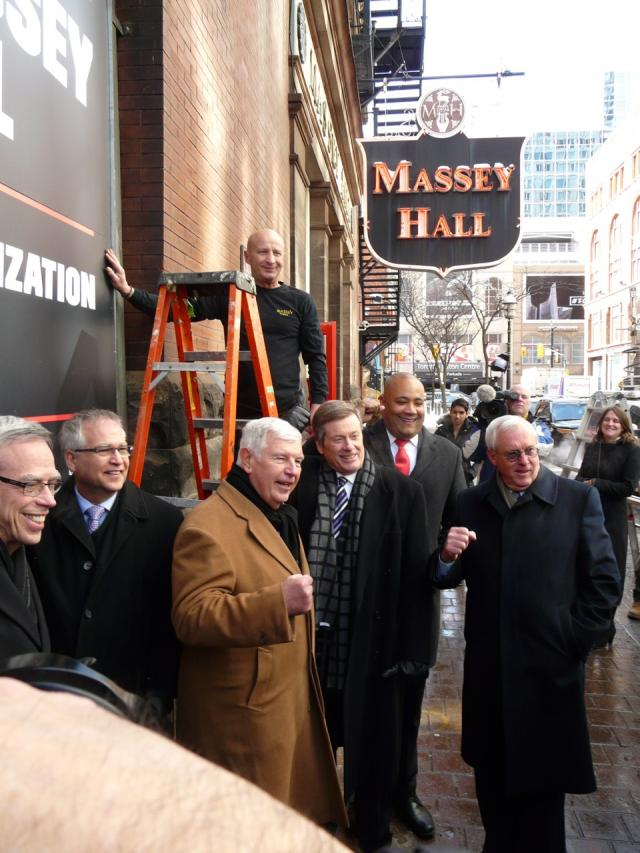 Massey Hall revitalization plan, Toronto