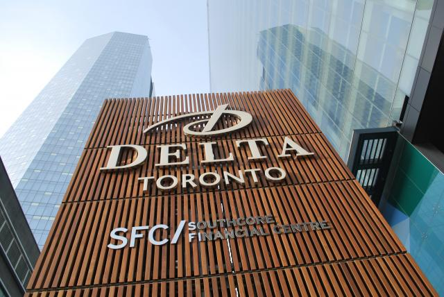 The four-star Delta Toronto, image by Marcus Mitanis