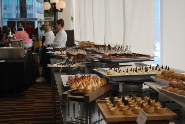 All kinds of treats were served at the grand opening, image by Marcus Mitanis