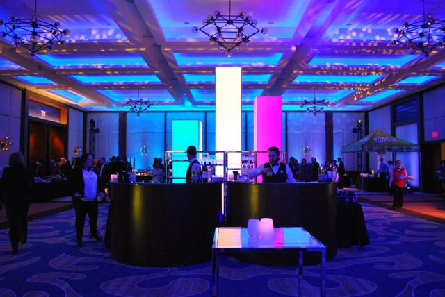 Opening party was held in the third floor SOCO ballroom, image by Marcus Mitanis