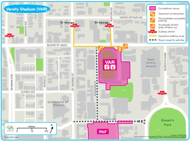 Transportation Plan For Pan Am Games Detailed Urban Toronto