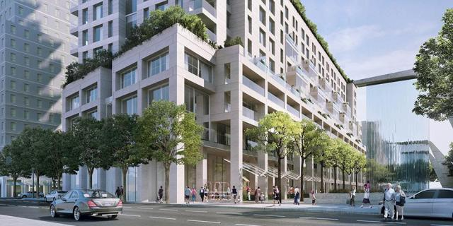 Monde Condominiums, Moshe Safdie, Quadrangle, Great Gulf Homes