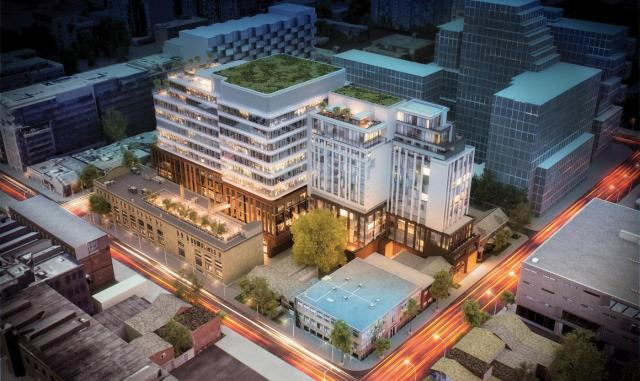 620 King Street West by Hariri Pontarini Architects for Allied REIT and RioCan