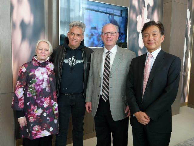 Karen Mills, James Lahey, David Shiner, Gabriel Leung
