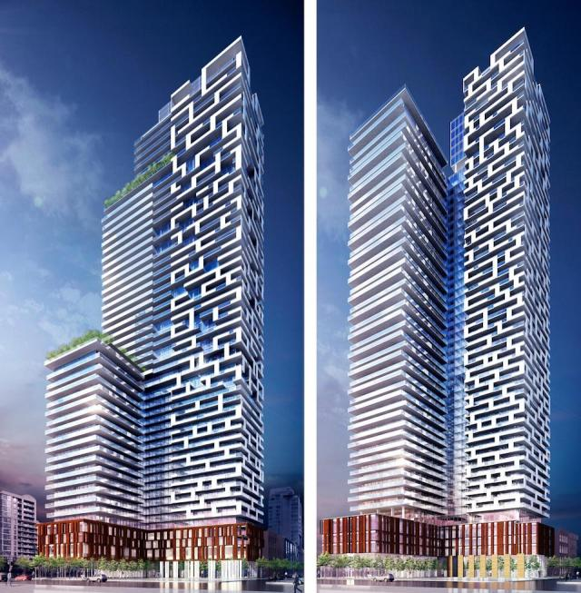 Yonge + Rich project evolved after a visit to the DRP, image by Great Gulf Homes