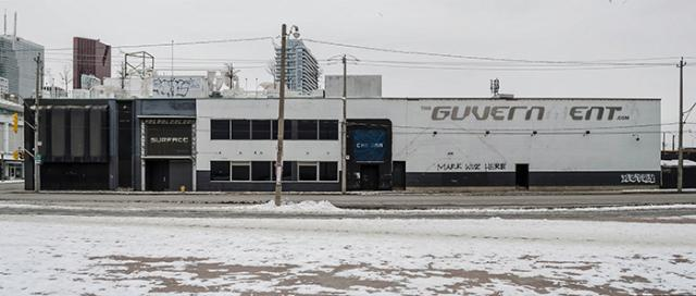 In the days after it's closure a few of The Guvernment's letters are missing