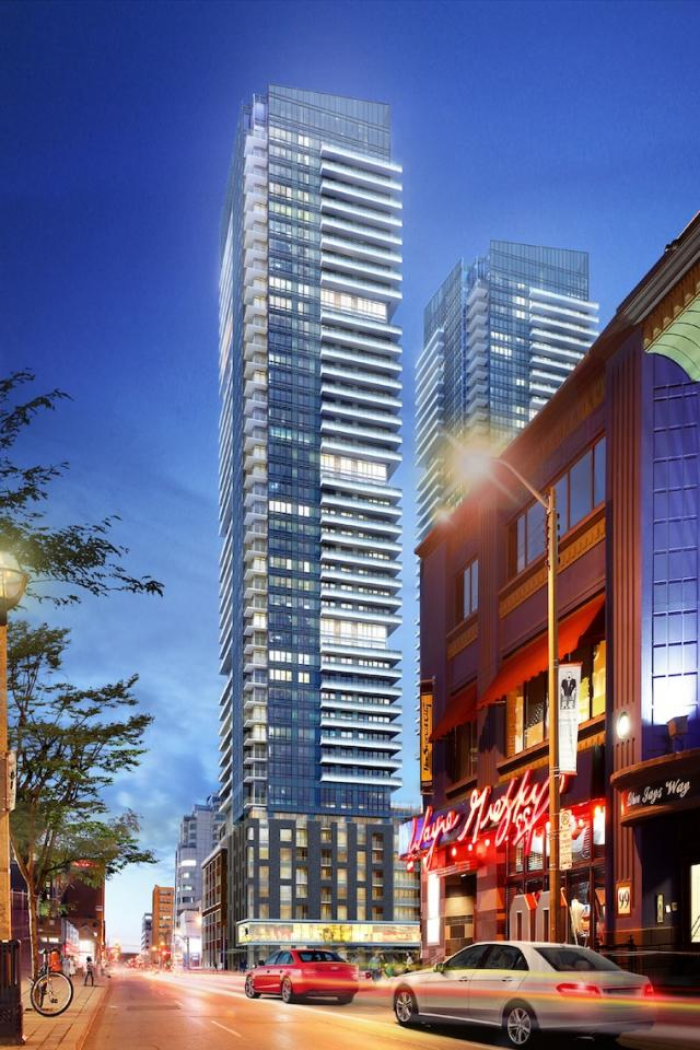 King Blue Condos Page + Steele IBI Group Greenland Group Westinghouse