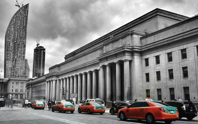 Photo of the Day, Toronto, Union Station, Beck Taxi
