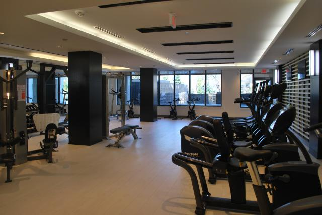 Fitness room, image by Marcus Mitanis