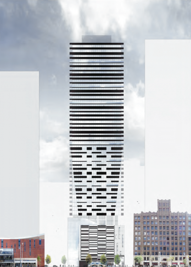 30 Widmer Street, Toronto by Plaza, Quadrangle Architects