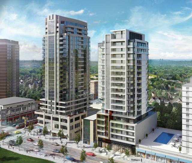 The Barrington Condos at St. Clair and Bathurst, image courtesy of Lash Group