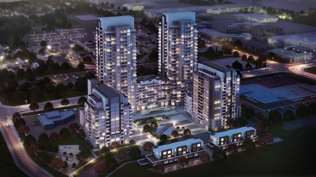 ME Living Condos at Markham and Ellesmere, image courtesy of Lash Group