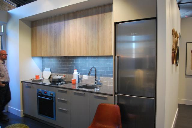 Model suite kitchen, image by Marcus Mitanis