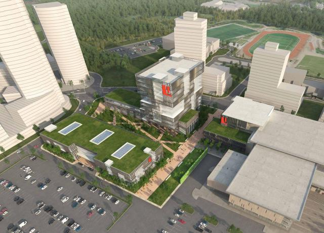 York University Markham Campus concept plan, image courtesy of York University