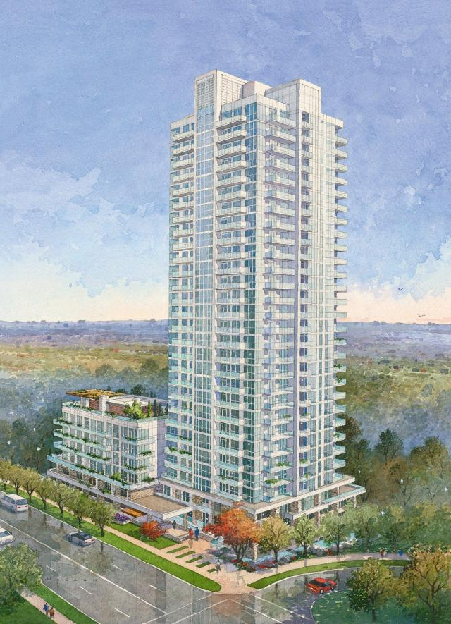 29-storey first phase of The Ravine, image by Urban Capital/ALIT Developments