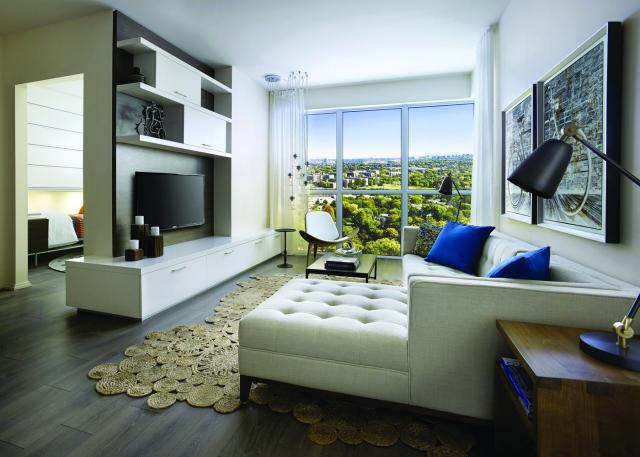 Model living area, image courtesy of Urban Capital/ALIT Developments