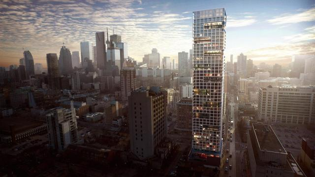 Grid Condos will top out at 47 storeys, image by CentreCourt Developments