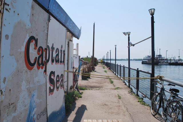 Captain John's signage still marks the site, image by Marcus Mitanis
