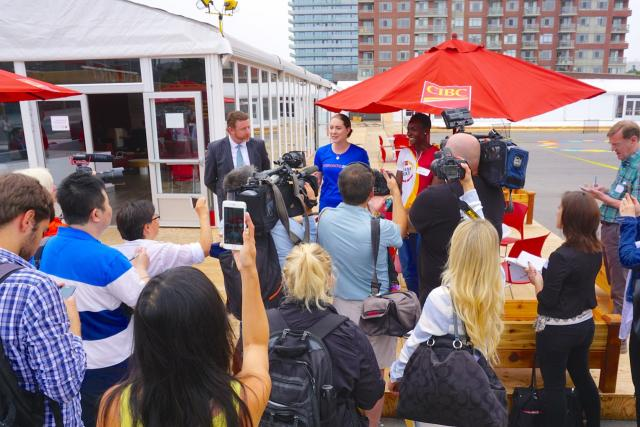 Pan Am games, Parapan Am Games, CIBC, Athletes Village, TO2015, Toronto