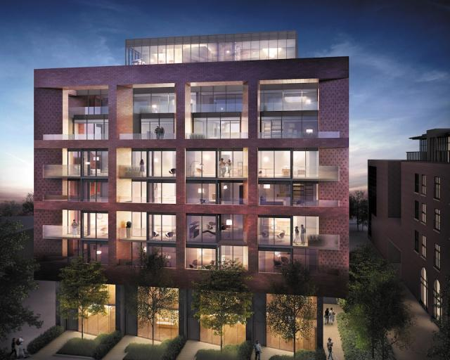 383 Sorauren Avenue, Gairloch Developments, architectsAlliance, Toronto