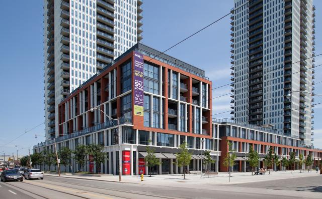 One Park Place, The Bartholomew, Toronto, The Daniels Corporation, TCHC