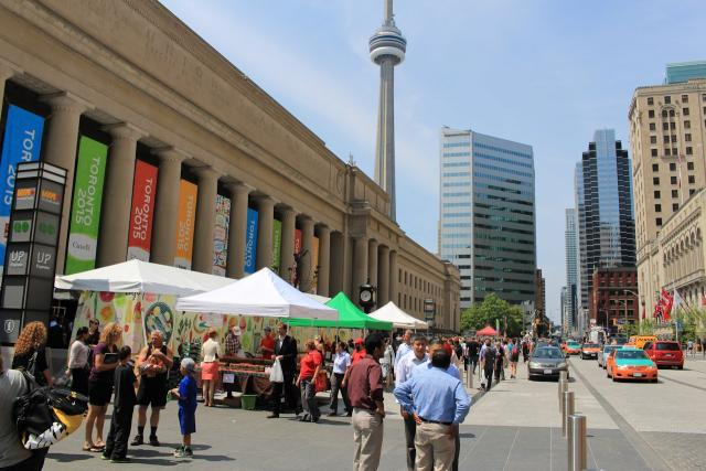 Union Station, Front Street Foods, Pan Am Games, Toronto, Union Summer