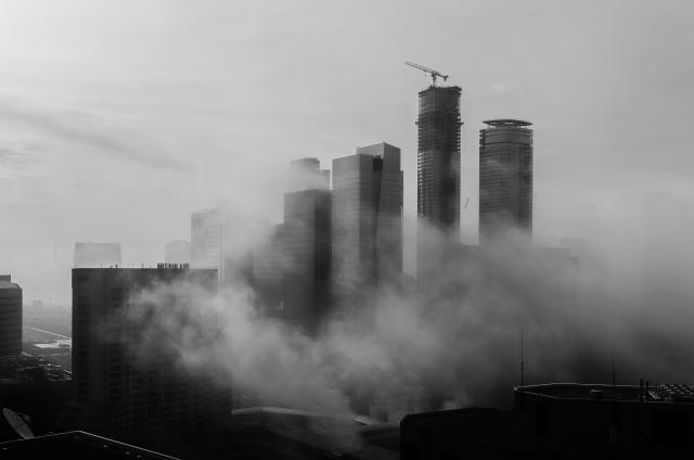 Photo of the Day, Toronto, South Core, ICE Condos, clouds