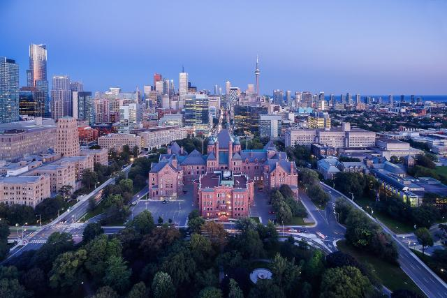 Photo of the Day, Toronto, skyline, Queens Park, Aura