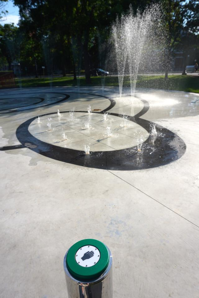 Exhibition Place Splash Pad, City of Toronto, terraplan