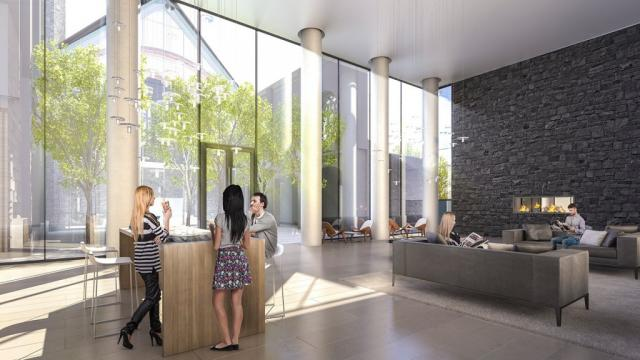 Blue Diamond Condos at Imperial Plaza, Camrost-Felcorp, Diamond Schmitt, Toronto
