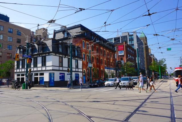Allied Properties, Gensler, Global Backpackers Hostel, 460 King West, Toronto