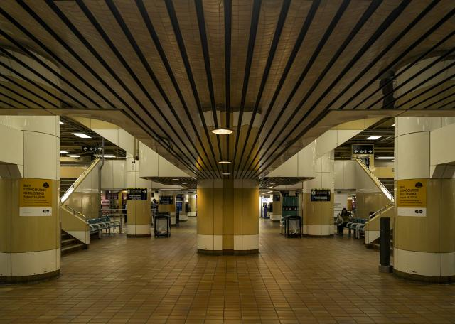 Design that's about movement, GO Bay Concourse at Toronto's Union Station