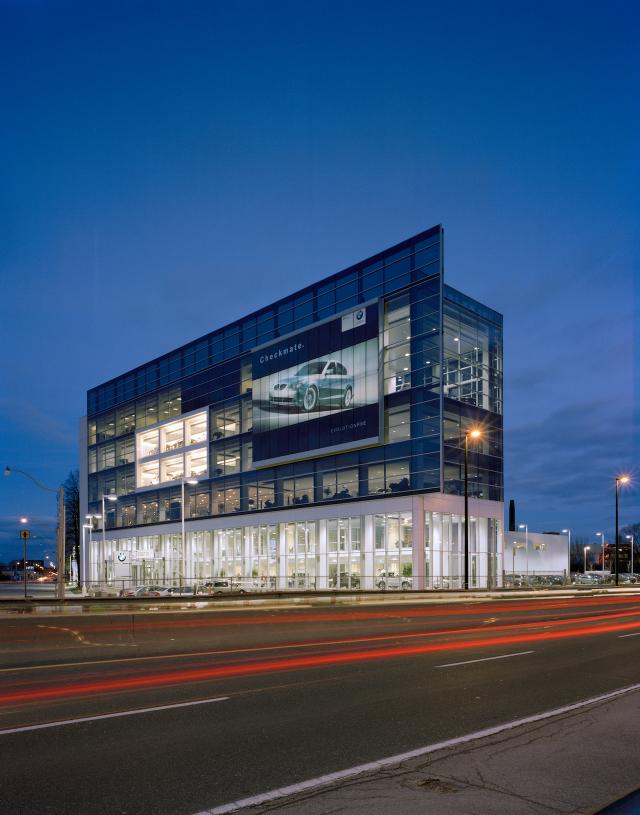 BMW Facility, image courtesy of Quadrangle Architects