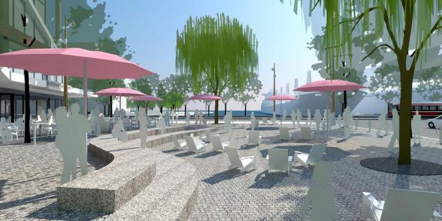 Extension of the popular Canada's Sugar Beach park into the Daniels Waterfront s