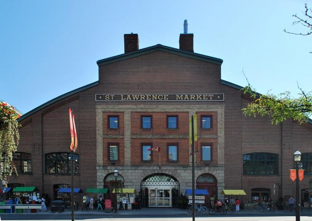 St. Lawrence Market South, image by Marcus Mitanis