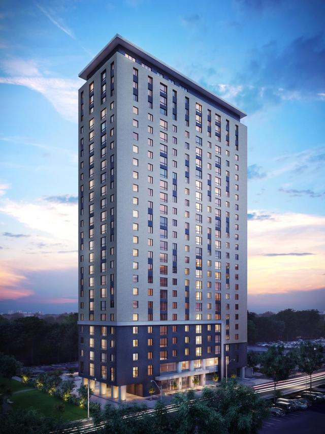 The second tower, Capital Hall Condominiums, image courtesy of Ashcroft Homes