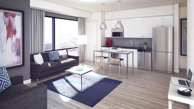 Capital Hall suites will be fully furnished, image courtesy of Ashcroft Homes