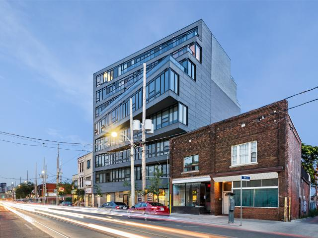 Abacus Lofts, DAZ, RAW Design, Quadrangle Architects, Richard Witt, Toronto